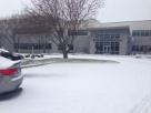 Company Headquarters in the snow