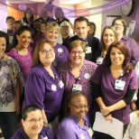 We turned the hospital purple to raise money for American Cancer Society Relay For Life!
