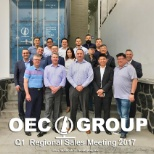 OEC Group photo: Throwback to the Q1 Sales Meeting in our Guadalajara, Mexico office!