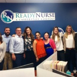 Our National Recruitment manager visited our RI ReadyNurse team!
