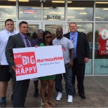 Mattress Firm photo: District Manager Adam Baker partnered with The Salvation Army to give back to local Mobile residents