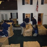 JK Moving Services photo: Employees learn proper methods to pack and load customer belongings in JK's unique Training House!