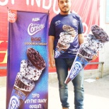 New innovation of Cornetto Cookies & Cream