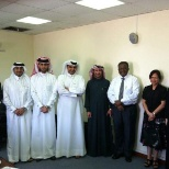Qatar Petroleum photo: My farewell party 2012 (2nd right)