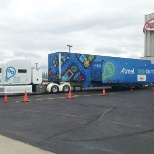 Atmel Corporation photo: Atmel Tech On Tour at DigiKey Office for hands-on training of 30+ engineers in our Mobile Trailer.