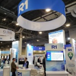 R1's booth at the HFMA Annual Conference.