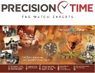 Precision Time Logo and Timeline