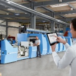 "Bosch Rexroth AG photo: innovative software concept ""Open Core Engineering"": applied in the field of printing and processing"