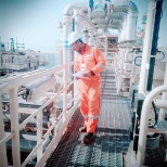 photo of Fluor Corp., E&i qc inspector