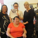 HC One photo: Congratulations to Louise Waterworth for being awarded the Kindness in Care Award at Grosvenor House