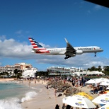 US Airways photo: So very focused when you are flying the aircraft but so much fun to watch from the beach