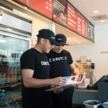 Chipotle Mexican Grill photo: Awesome benefits like tuition assistance and free food