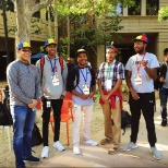 Some of our 2016 Google interns at the Quad campus