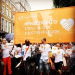 Thomson Reuters photo: Pride at Work - London
