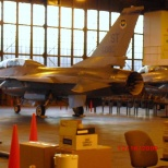 the shop with a pair of F-16's