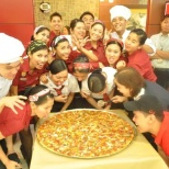 Pizza Hut photo: Grand opening of new store way back 2011