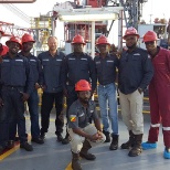 Halliburton photo: Rig site moho nord tux