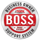 Roehl Transport photo: Roehl's Business Owner Support system is available to owner operators and leased truck drivers.