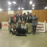 Team picture with sponsors and supervisors at Project C.U.R.E