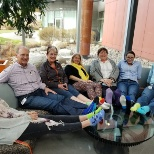 Our CHRO joined us to wear mismatched socks for World Down Syndrome Awareness Day