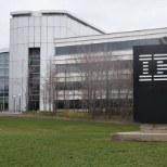 IBM photo: Outside building.