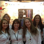 Aakron Rule photo: Whole AAkron team at the PPAI Expo in Las Vegas, NV.