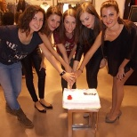 1 year of Zara in our city ( the managment team)