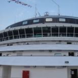 Holland America Line photo: bow of Ms Statendam