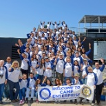 SCS Engineers photo: Southwest office supports local Rotary Club