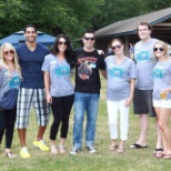 Wimmer team members at the 2012 Summer Picnic