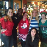 Breakfast with santa volunteer event