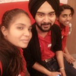 Brother sister working at KFC