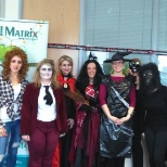 The Matrix Waterford Team at Halloween!
