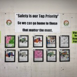 "Our ""Make Safety Personal"" campaign in 2019 built around a coloring contest for kids.  Safety First!"