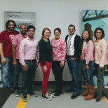 Our Mahwah office celebrating Breast Cancer Awareness Month with Pink Pride!