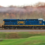 CSX photo: How tomorrow moves!