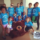 Kids from camp at bowling green parks and recreation