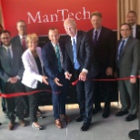 ManTech International Corporation photo: Inaugurating a new office complex, where we're providing IT services to a key government agency.