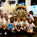 Astro, Einstein, and our team had a great time at StartCon.