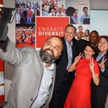 Henkel employees from around the world gathered to celebrate diversity and inclusion.