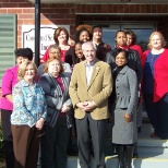 Concerted Services, Inc photo: Visit from Congressman Barrows