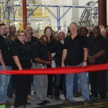 Ribbon cutting ceremony at the Henkel St. Louis Plant