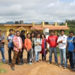 MphasiS photo: team outing