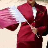 Qatar Airways photo: I was selected to open up the Desitination for Qatar Airways