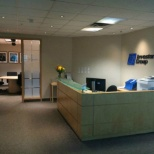 Investors Group photo: Edmonton Metro front desk