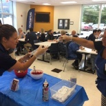 Olympus Waltham recently held a make your own ice cream sundae event!