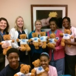 Daytona Beach Area Chapter of Jack and Jill of America, Inc. donation of adorable teddy bears!