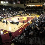 Central Michigan University photo: Central Michigan University Wrestling home dual in which they defeated The University of Michigan