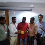 Home Credit India Finance Private Limited photo: Best employee award