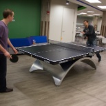 Ping-Pong break in our Chicago headquarters!